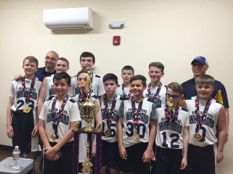 Steve Kane's 6th grade State Champions